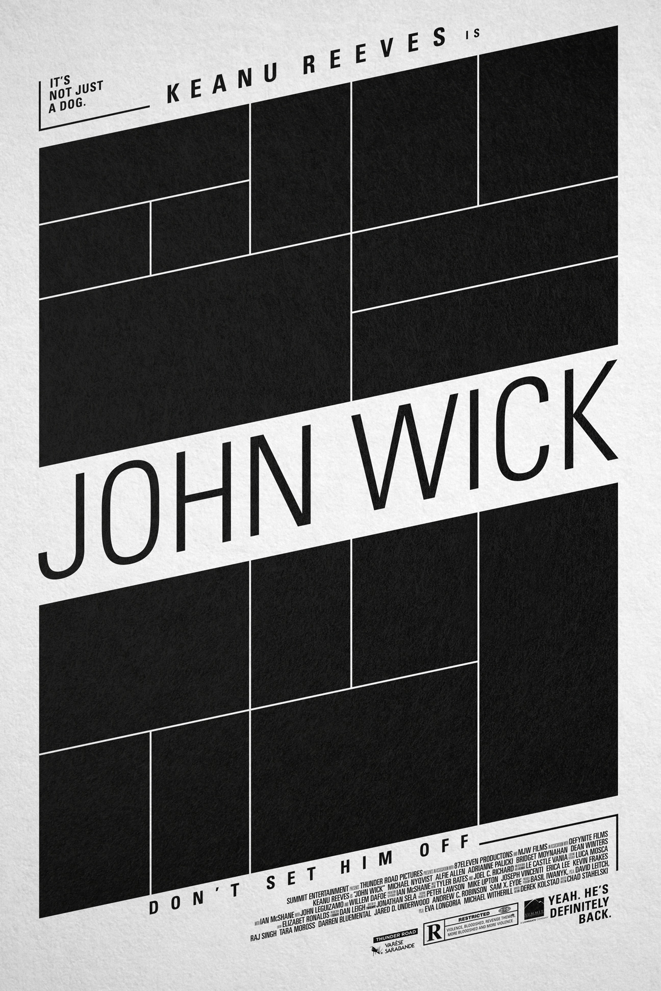John wick poster changethethought studio