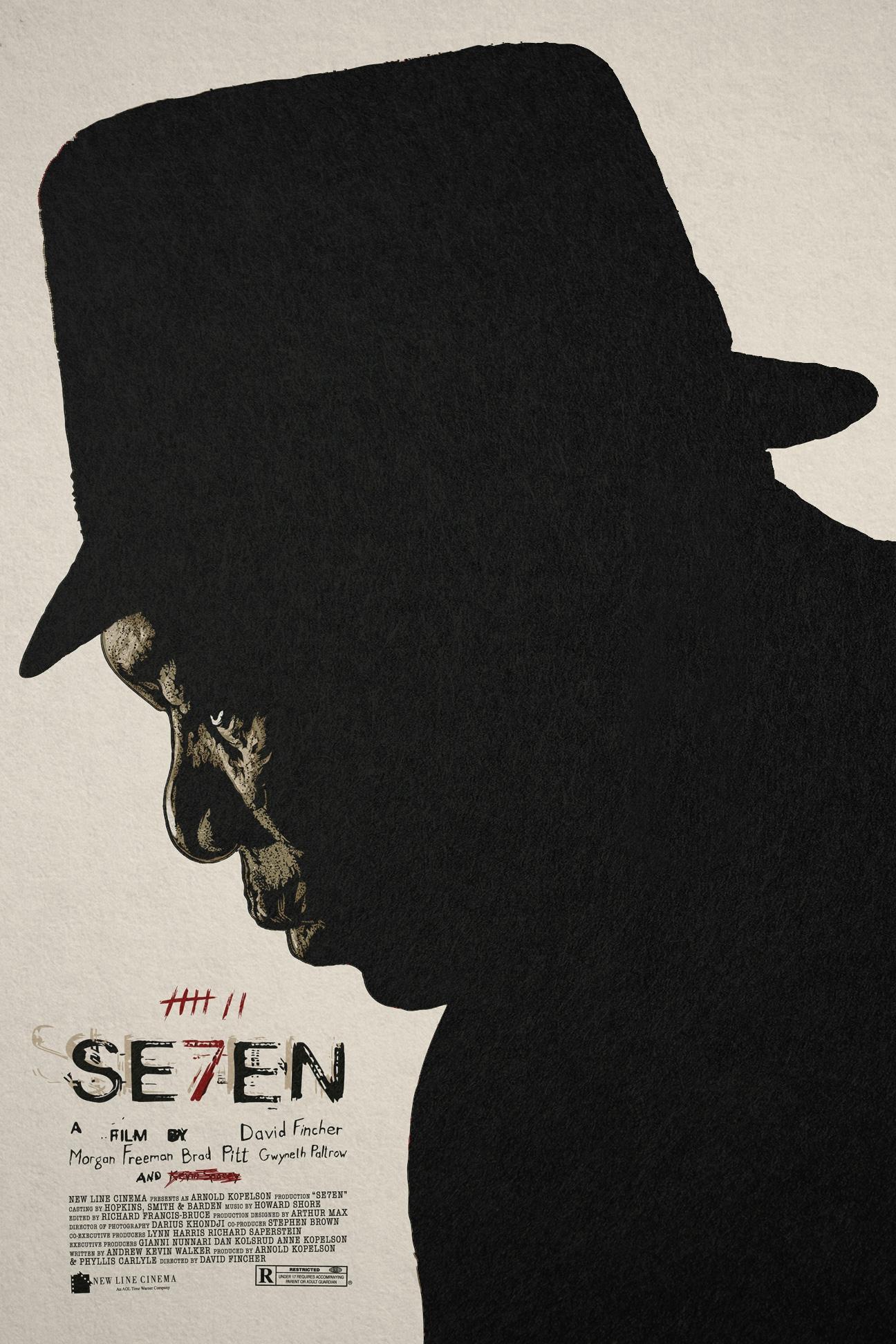 se7en poster � changethethought studio
